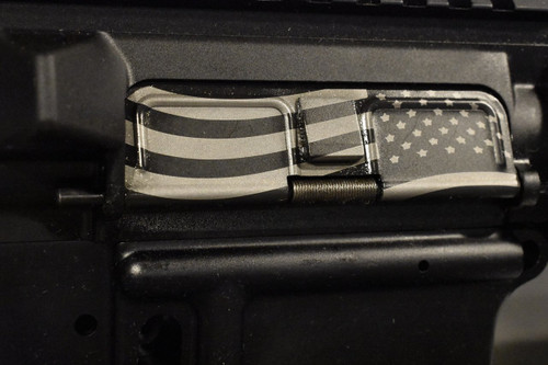 AR15 Dust Cover - American Flag 2 Charging