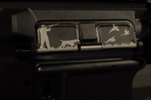 AR15 Dust Cover - Hunter