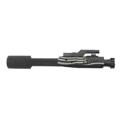 AR15/M16 Nitride Bolt Carrier Group - American Flag Engraved