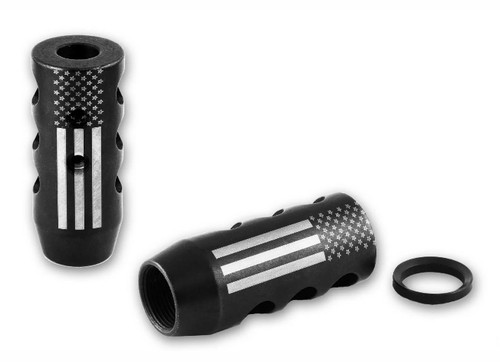 Dynamic Armament .308/6.5 Creed  Muzzle Brake - American Flag