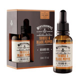 Mens Thistle and Black Pepper Beard Oil