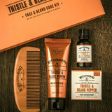 Mens Thistle and Black Pepper Beard Care Kit