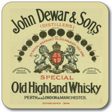Whisky Labels Coasters