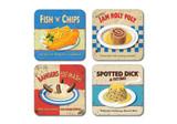 Classic British Foods Coasters