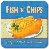 Classic British Foods Coasters