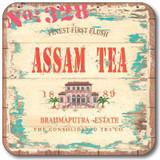 Vintage Tea Labels Coasters