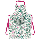 Thistles and Butterfly Apron