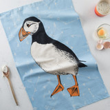 Clever Puffin Kitchen Towel
