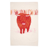Highland Cow Kitchen Towel