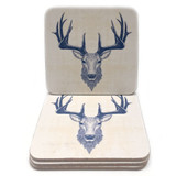 Highland Stag Coasters