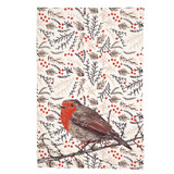 Woodland Robin Kitchen Towel