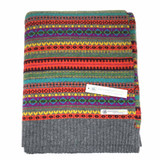 Merino Lambswool Staffa Throw Blanket