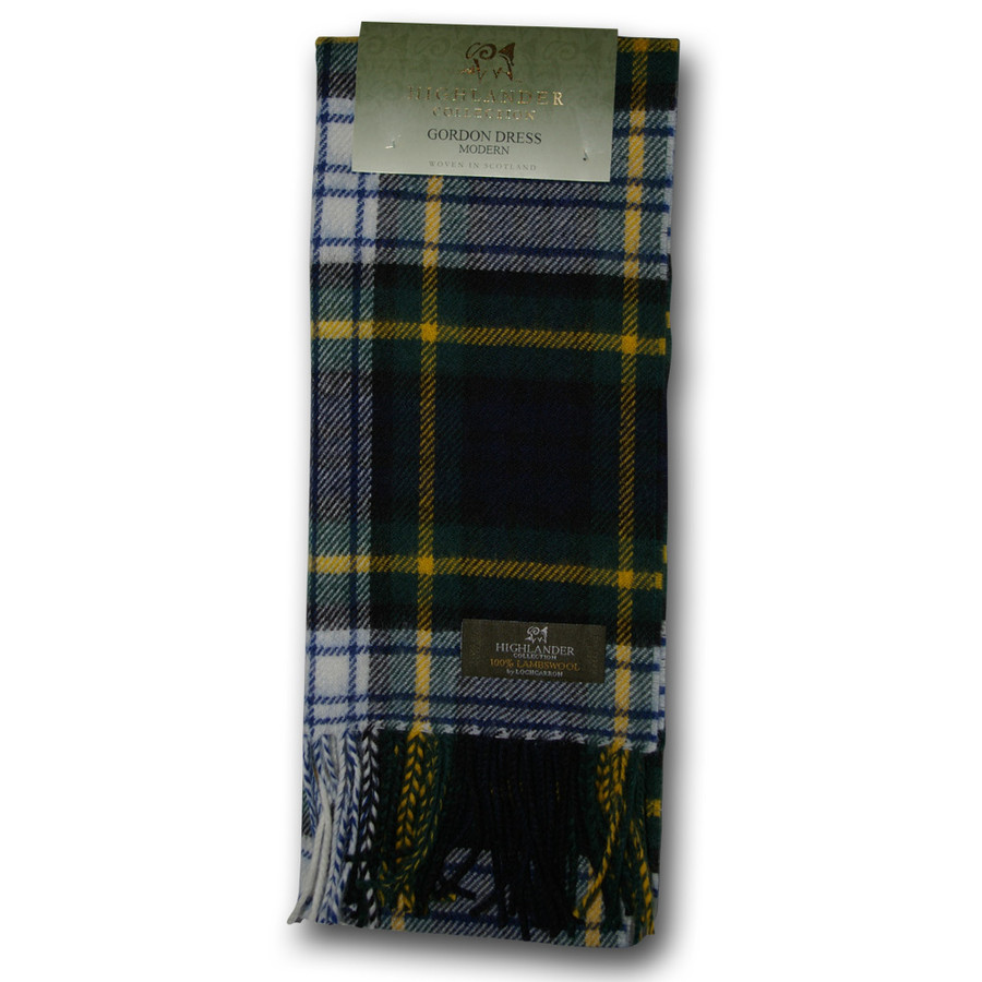 Gordon Dress Tartan Scarf