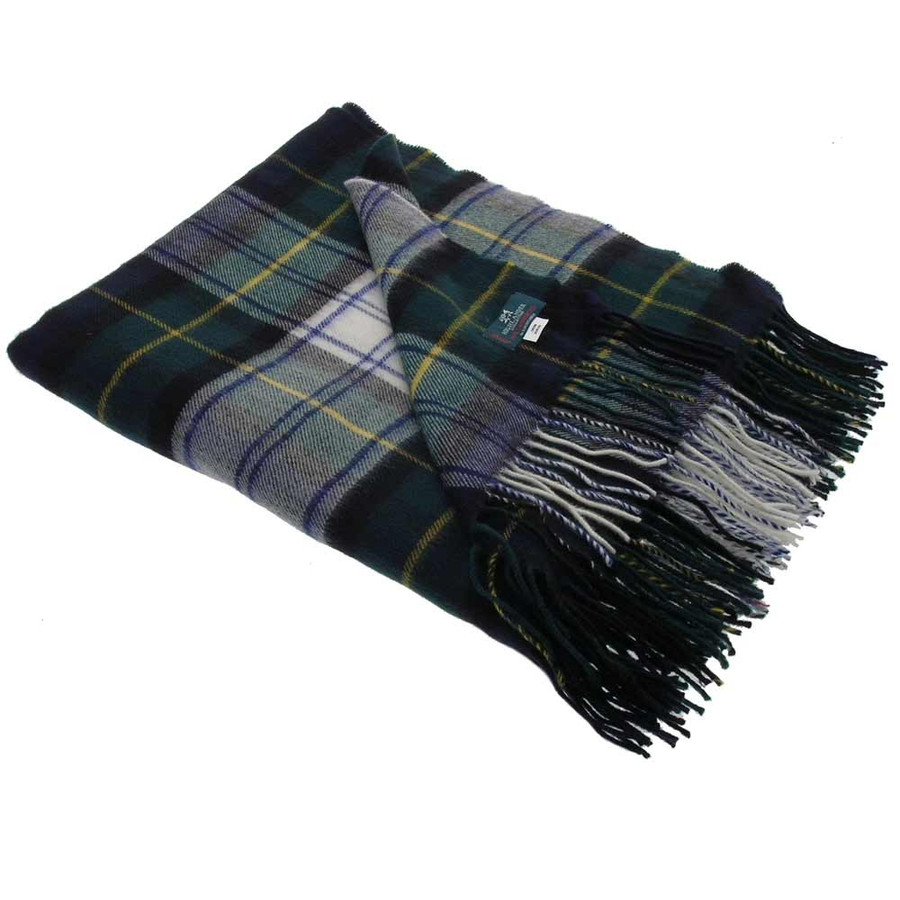 Gordon Dress Modern Tartan Blanket