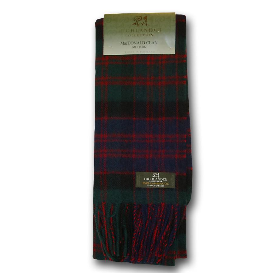 MacDonald Clan Tartan Scarf