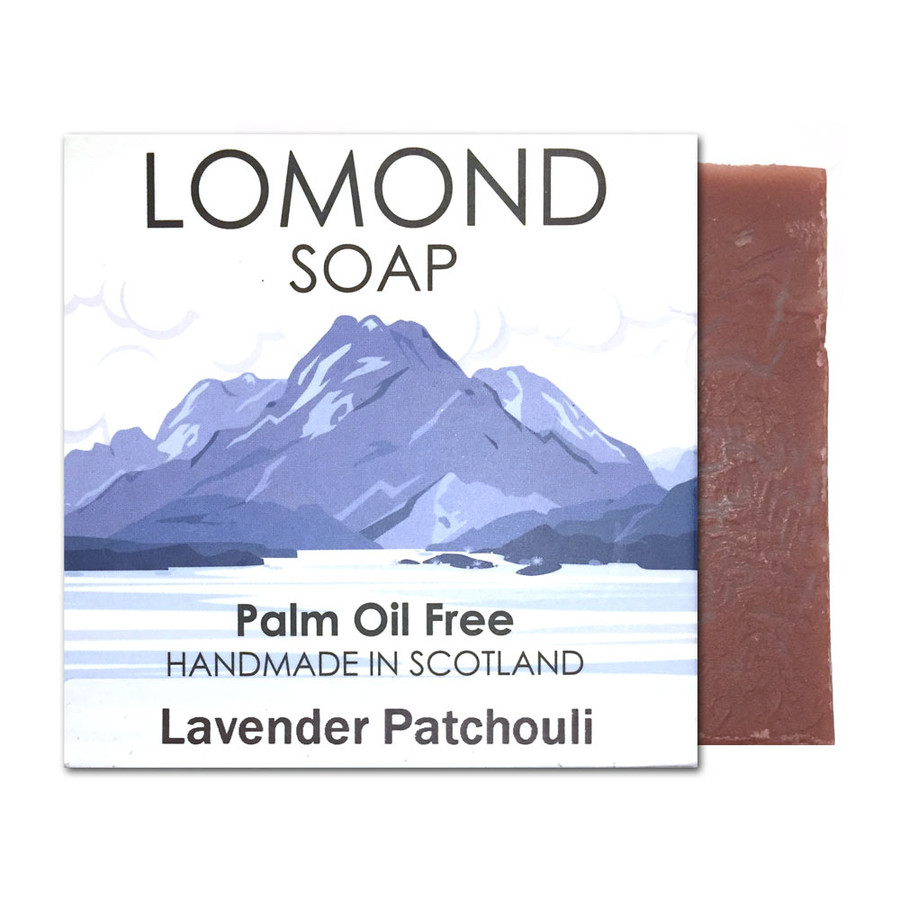 Lavender and Patchouli Bar Soap