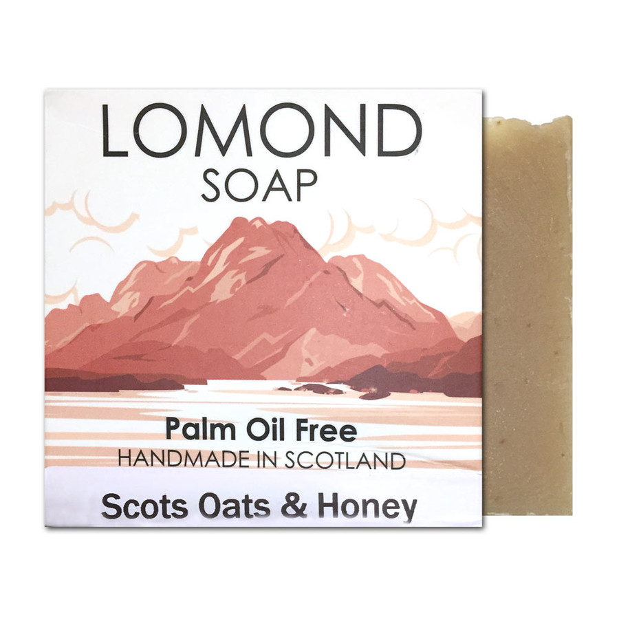 Scots Oats and Honey Bar Soap