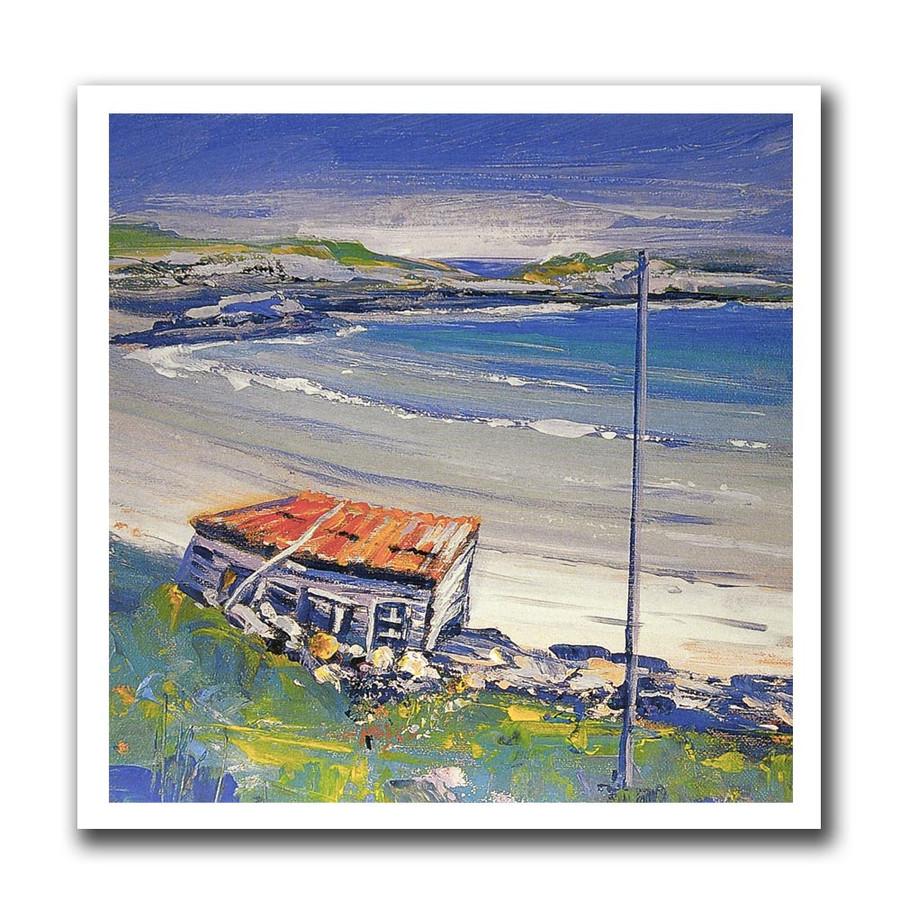 Joyce Borland, Sorrisdale Bay greeting card