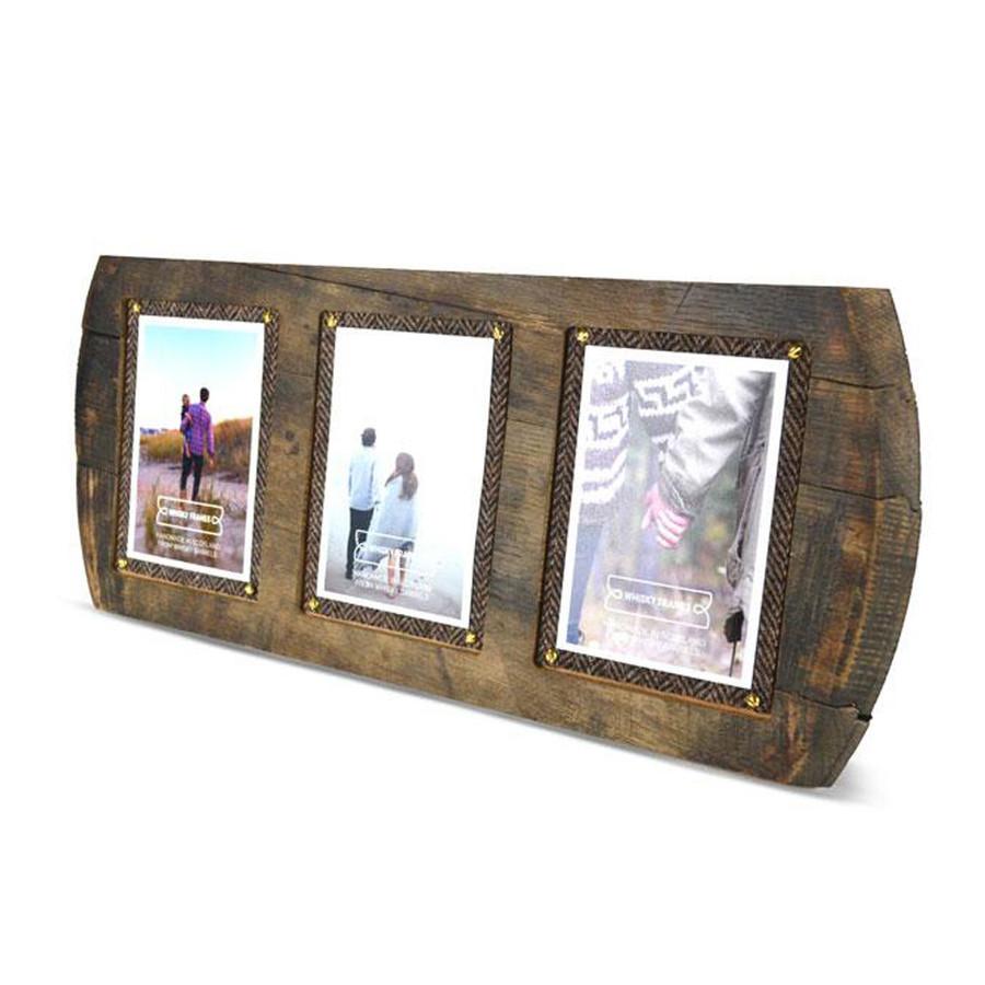 Whisky Barrel Head III Frame