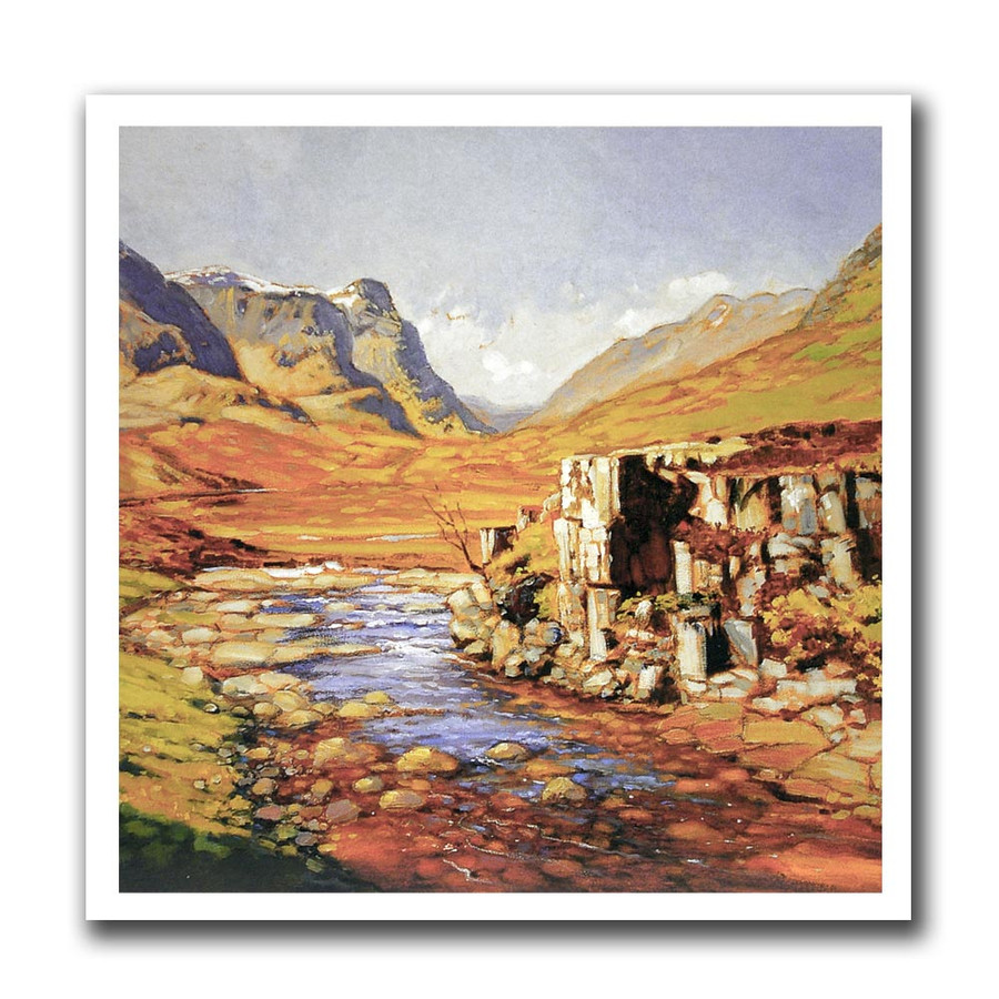 Ed Hunter, Glencoe greeting card