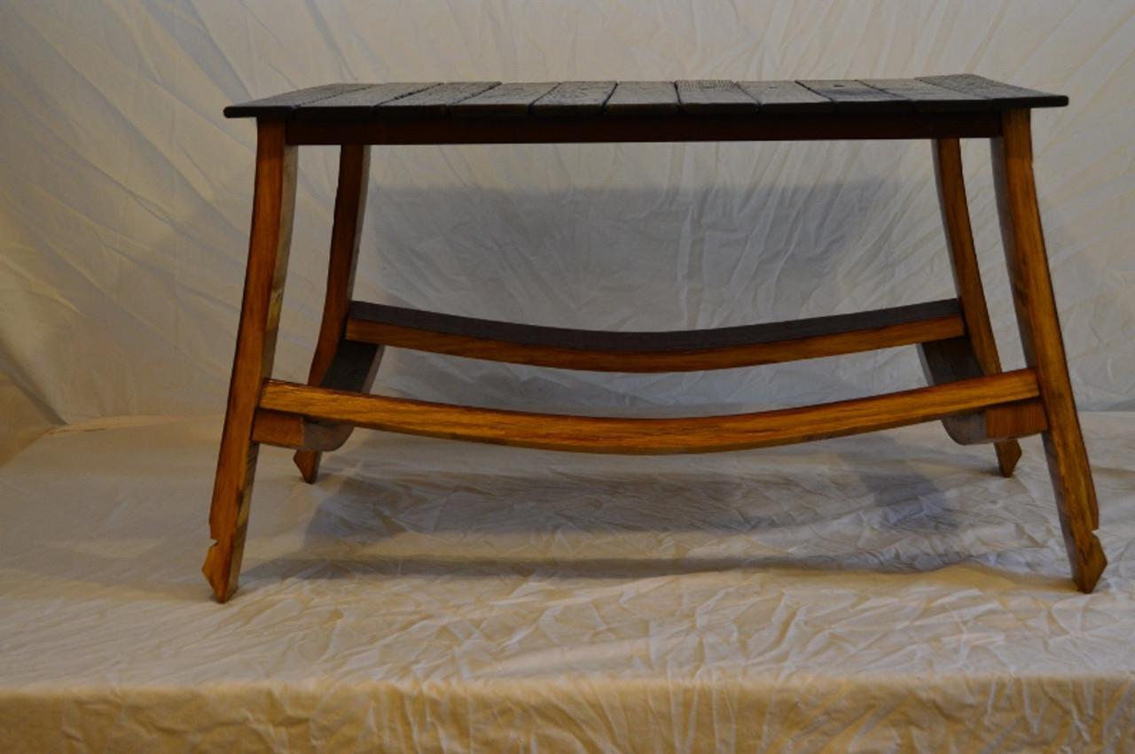 Wine Barrel Insert Coffee Table Wine Barrel Furniture And Home Decor