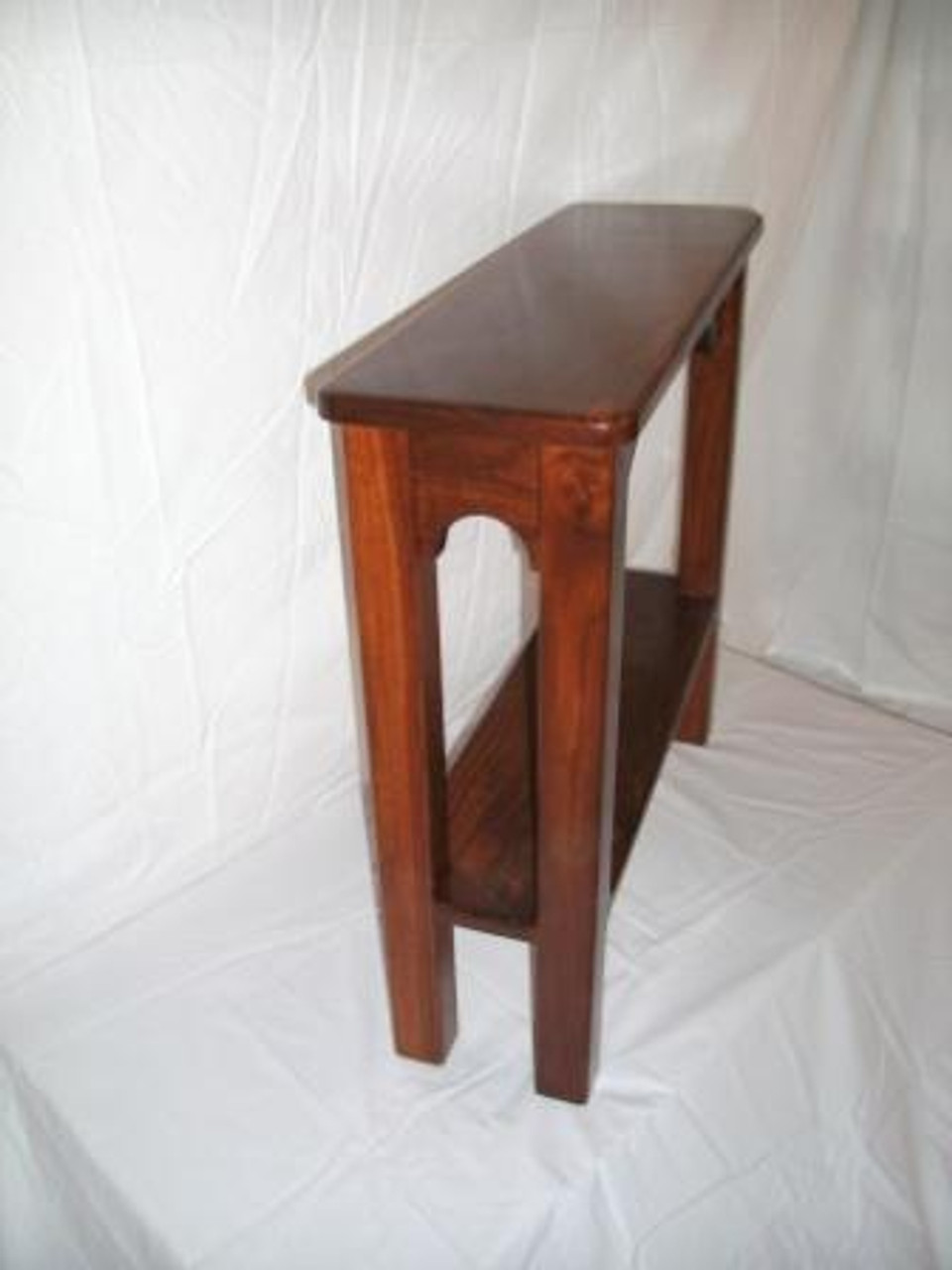 Magnificent Walnut End Table 8 Wide Pabps2019 Chair Design Images Pabps2019Com