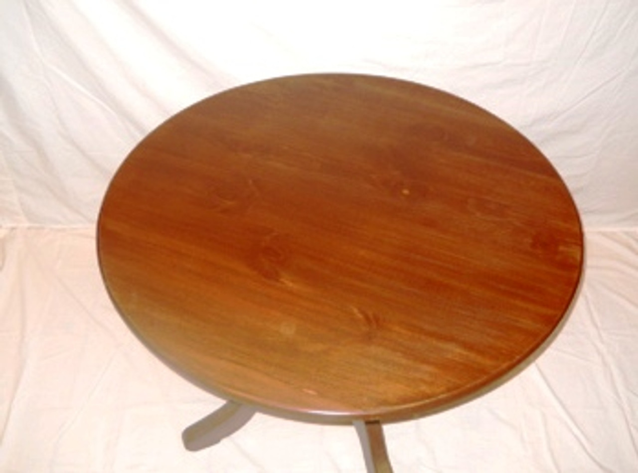 Round Dining Table Custom Hand Made Solid Wood