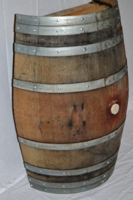 Half Wine Barrel