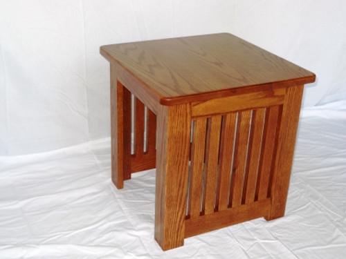 Prairie Style End Table