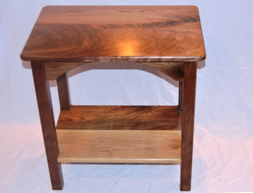 "Walnut End Table 16"" Wide"