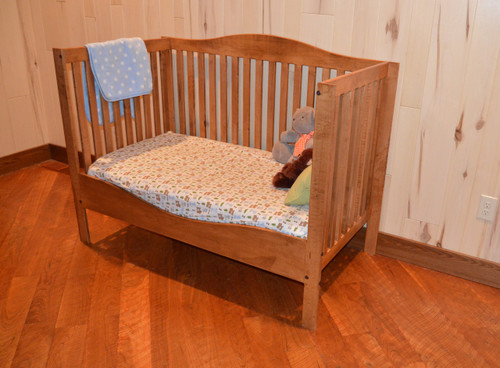 3 Way Maple Crib From Crib to Toddler Bed to Youth Bed