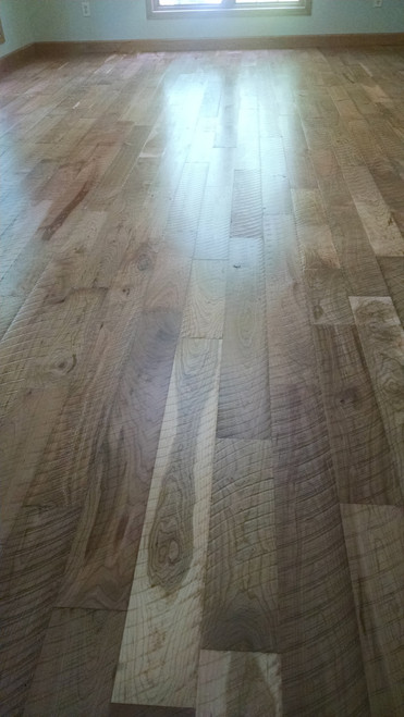 Rough Sawn Cherry Flooring