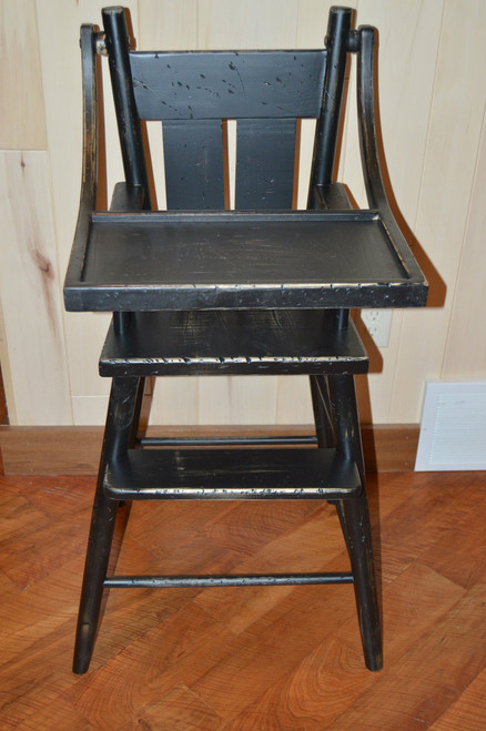 Distressed High Chair