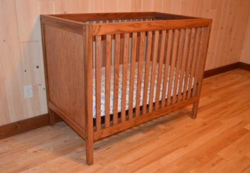 Oak Crib