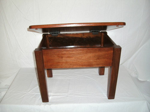Small Bench with Lid