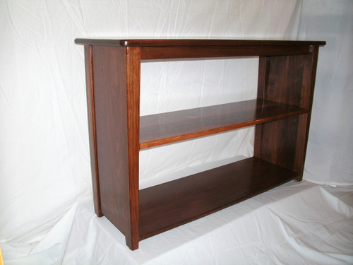 Walnut Bookshelf With Sides