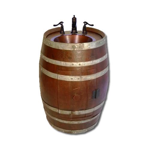 Wine Barrel Vanity