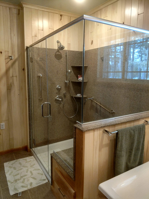 Custom Quartz Shower