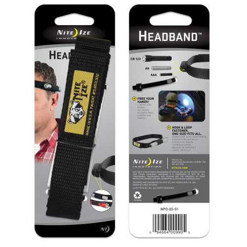 Headband™ Flashlight Holder