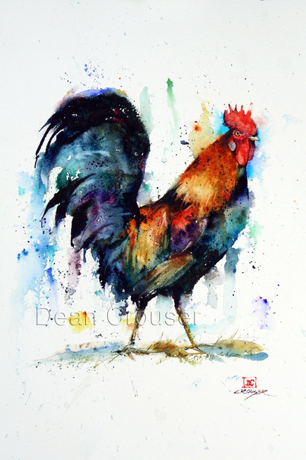 ROOSTER signed and numbered giclee print. Edition limited to 400.