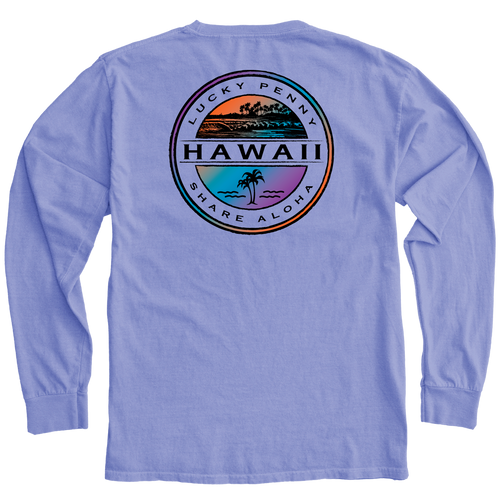 The Lucky Penny Hawaii Seal back design -PERI