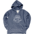 Be Aloha French Terry Hoodie- Navy