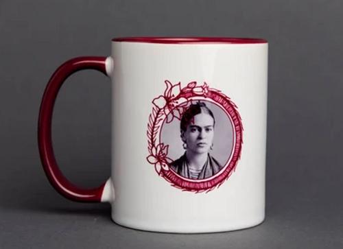 POWER MUG, FRIDA KAHLO, Iamtra - 16 oz ceramic cup