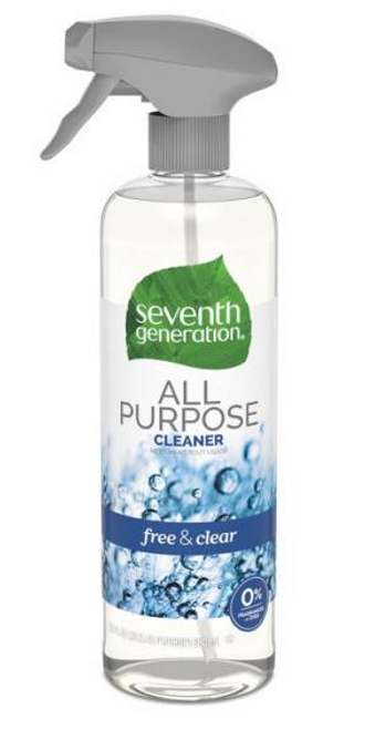 ALL PURPOSE CLEANER, UNSCENTED, 7th Generation,   23 oz