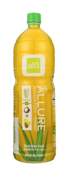 *SALE* DRINK, ALLURE: ALOE VERA, MANGOSTEEN + MANGO, Alo, 50.7oz