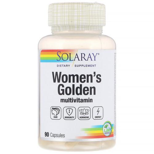 WOMEN'S GOLDEN VITAMIN, Solaray, 90 caps