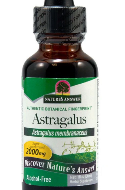 ASTRAGALUS ROOT, ALCOHOL-FREE, Nature's Answer, 1 fl oz