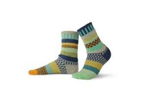 SOCKS, CREW SOCKS, MEDIUM ALOE, Solmate Socks 1 pair