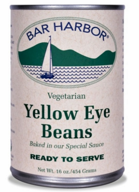 BAKED BEANS, YELLOW EYE, Bar Harbor  16 oz