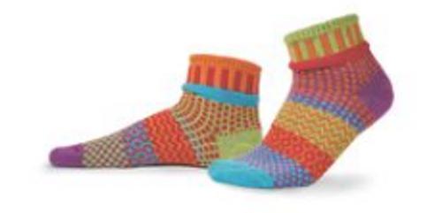 SOCKS, QUARTER SOCKS, MEDIUM COSMOS, Solmate Socks 1 pair